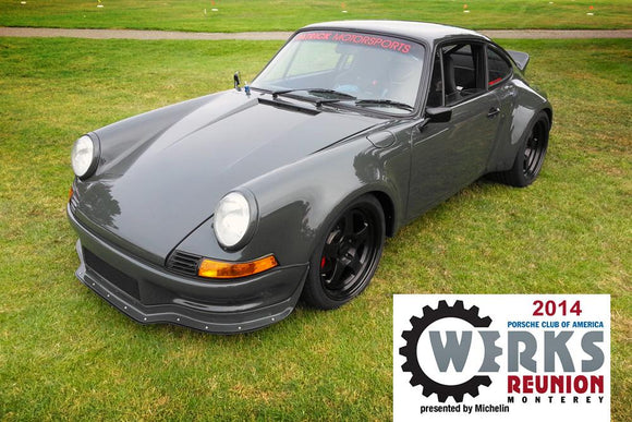 1973 911 RSR 3.8L Twin Turbo MOTEC EFI Upgrade And G50 6 Speed Conversion