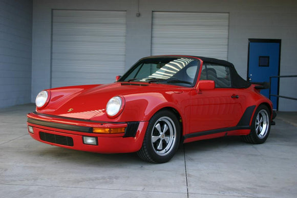 1989 PORSCHE 930 TURBO CABRIOLET - 3.3L - G50-50 5 SPEED