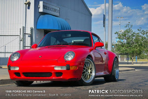 1998 993 Carrera S - 3.8L Euro RS Engine Conversion
