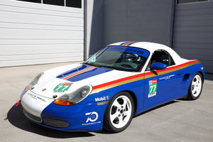 """Rothmans"" BSR - 986 Boxster Spec Race Car Build"