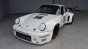 SOLD: 1974 RSR RACE CAR in WHITE