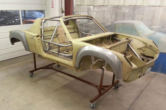 914-6 GT CHASSIS BUILD