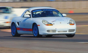 #17 White / Blue BSR - 986 Boxster Spec Race Car Build