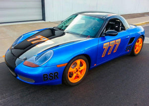 #777 Blue BSR - 986 Boxster Spec Race Car Build