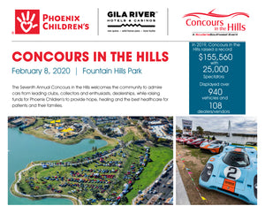 Concours in the Hills - February 8th