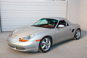 Fresh Build For Sale: #99 Arctic Silver BSR - 986 Boxster Spec Race Car