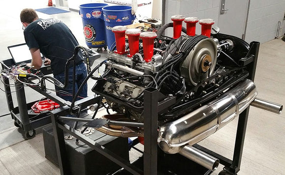 MOTEC EFI 3.8L Slide Valve Engine Build