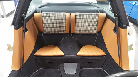 1973 Porsche 911 Targa Rear Seats