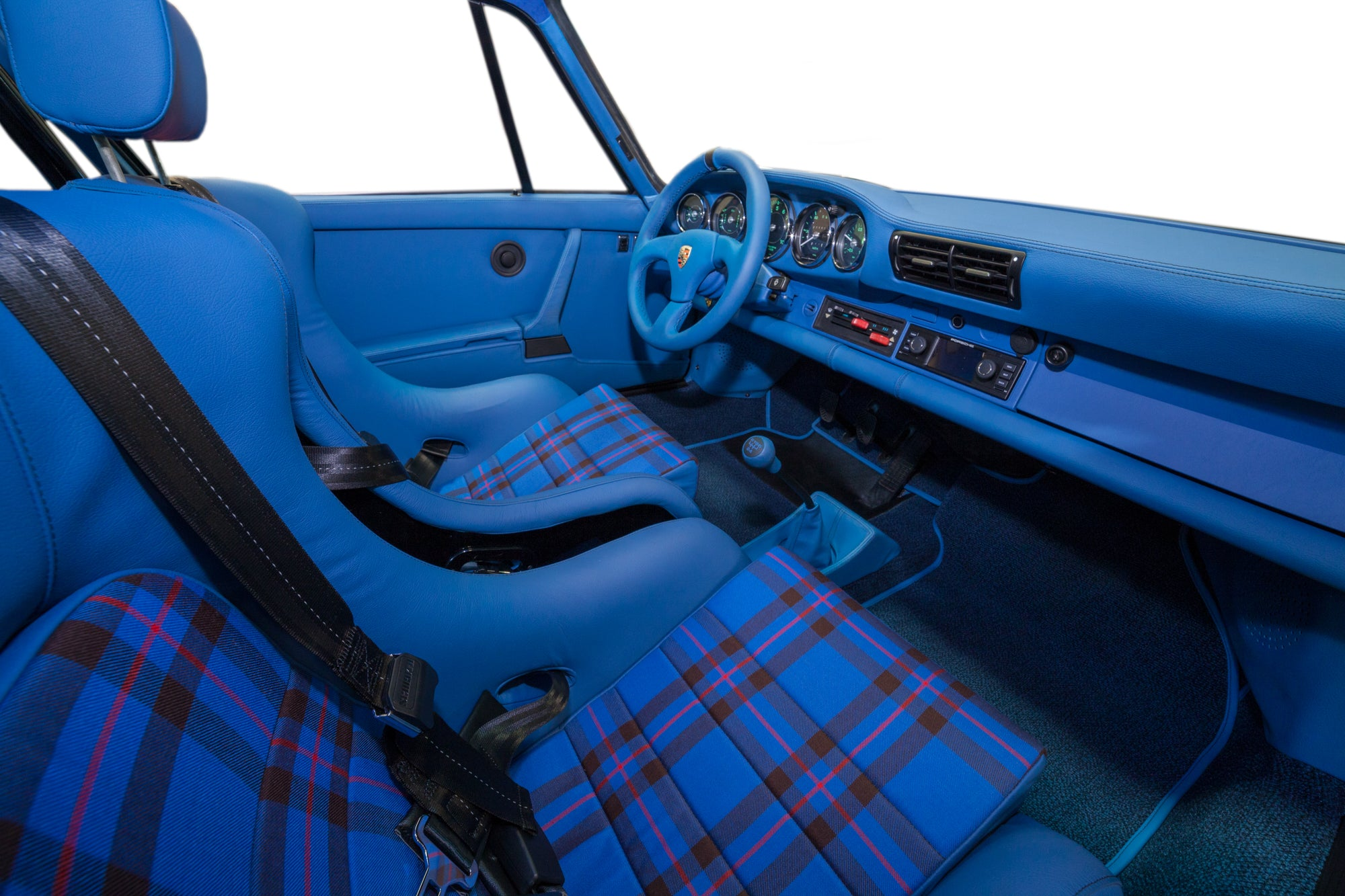 1986 Porsche 930 911 rsr turbo interior