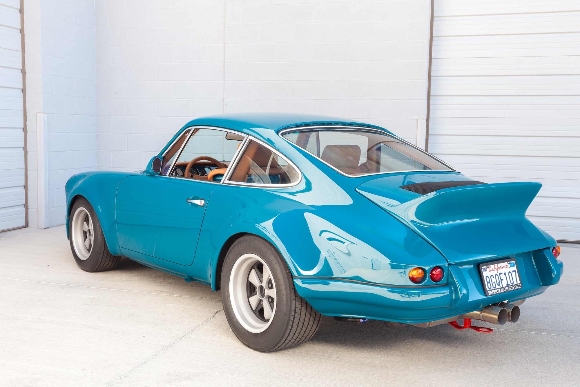 1975 1973 Porsche 911 RSR Backdate 993 Turbo rear driver