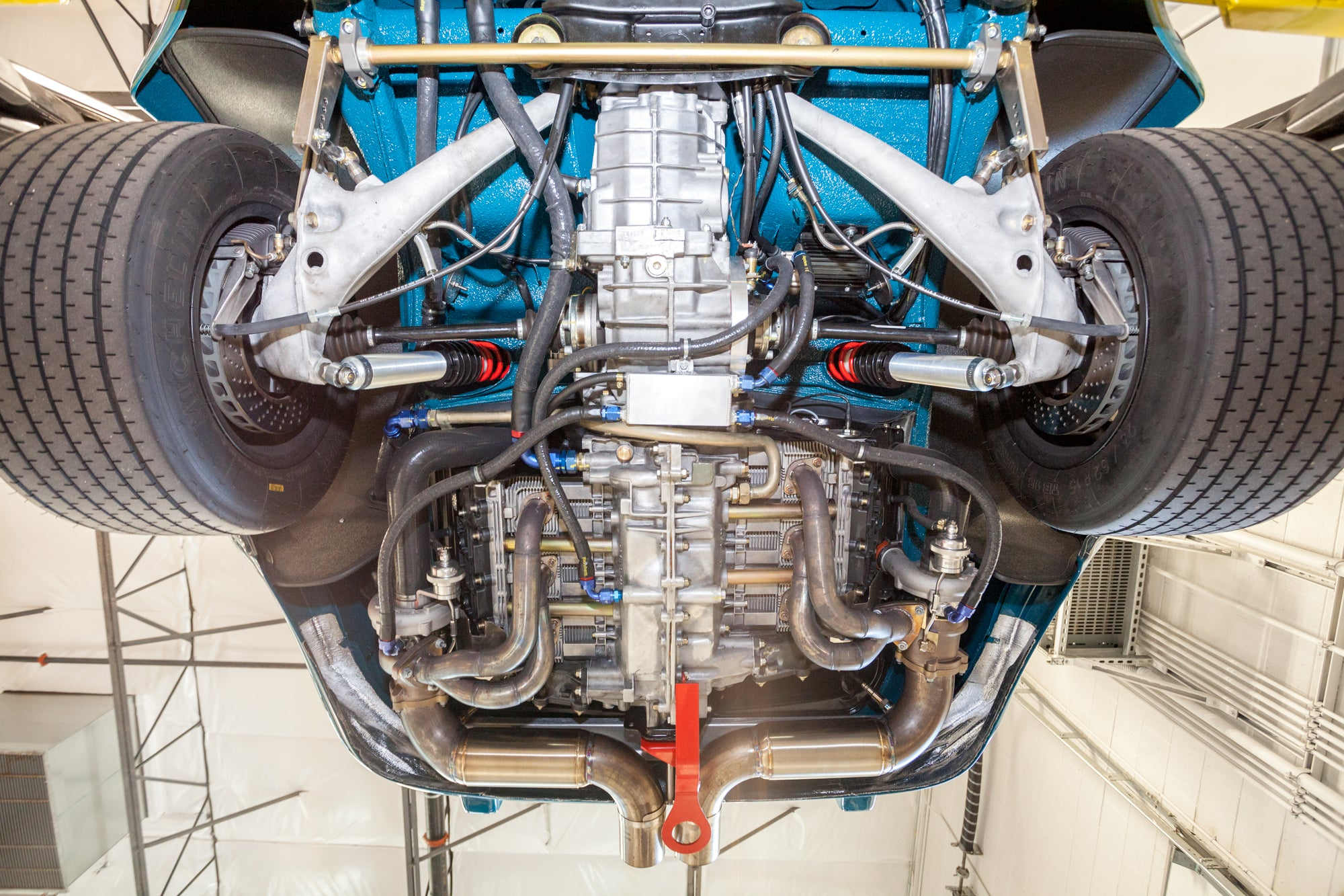 Porsche 1975 RSR Backdate Twin Turbo engine