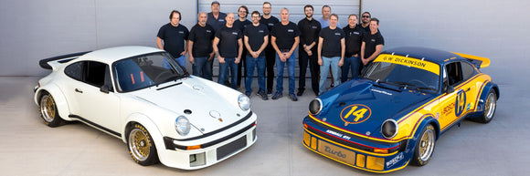Patrick Motorsports USA Team Photo - Porsche 934 Concours Restoration Completed