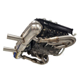 "911 RSR Style Stainless Steel Exhaust Header Set 1-3/4"" 1.750"" OD Primaries (EXH 911 RSR HS 134 PMS)"