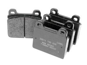 BRAKE PAD SET- (1984-1989) PORSCHE 911- TEXTAR- BRA91135195006TEX