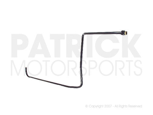 OIL 930 207 045 01 OEM: 911 - 930 OIL SUPPLY PIPE FROM OIL THERMOSTAT TO FRONT COOLER SUPPLY LINE