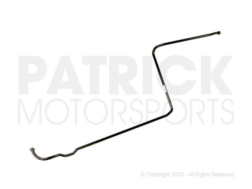 OIL 930 207 046 01 OEM: 911 - 930 OIL PRESSURE RETURN PIPE FROM OIL THERMOSTAT TO FRONT COOLER RETURN LINE