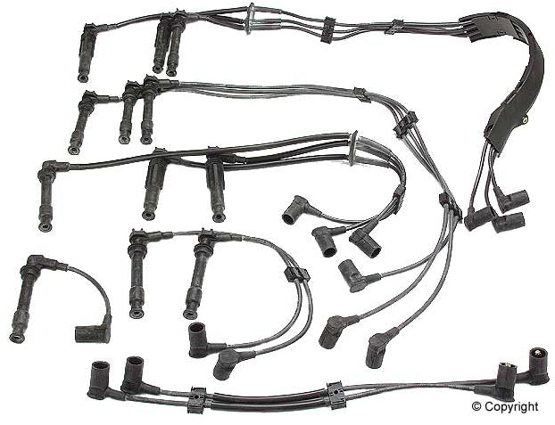 ELE IGN 964 609 050 00 PM: IGNITION WIRE SET TWIN PLUG - (1990-1994) PORSCHE 964 - 3.6L H6