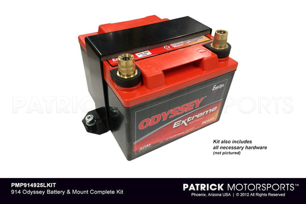 914 ODYSSEY BATTERY & MOUNT COMPLETE KIT- PMP914925LKIT