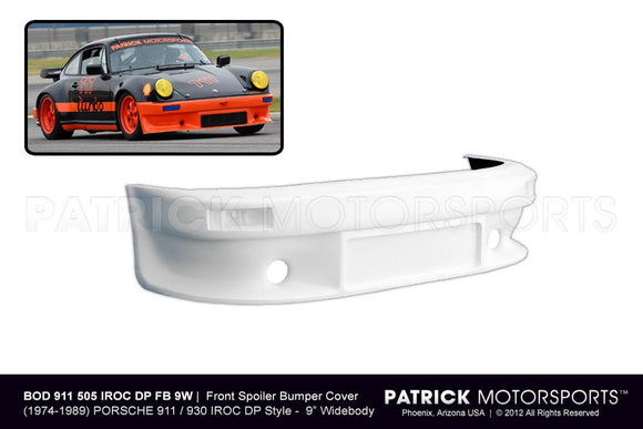 Porsche 911 / 930 Turbo IROC RS Front Bumper For Wide Body 9