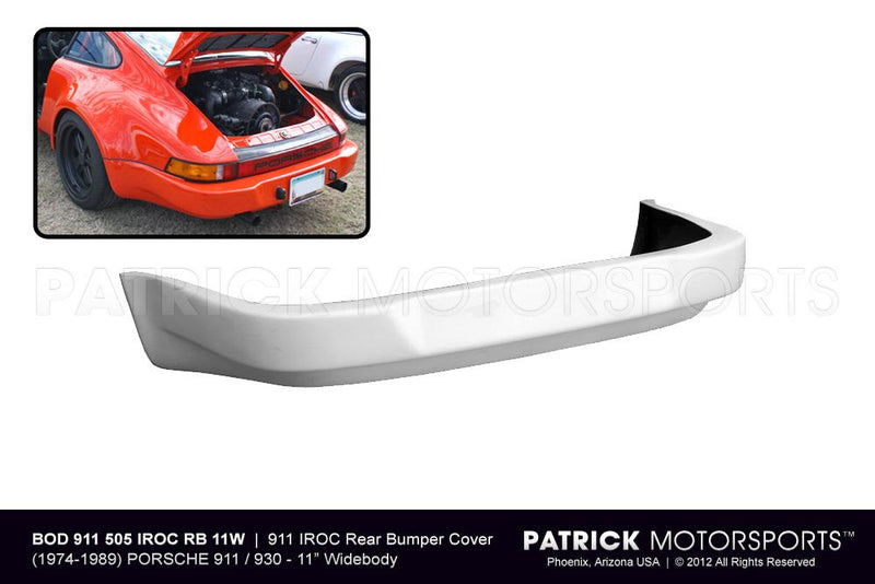 Porsche 911 / 930 Turbo IROC / RSR Rear Bumper For Wide Body 11