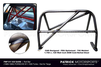 BOD 911 930 SARB PMP: 911 / 930 ROLL BAR CAGE HARNESS COUPE CHASSIS SUSPENSION