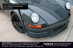 BOD911RSRFS: 1973 911 RSR LOWER FRONT SPLITTER