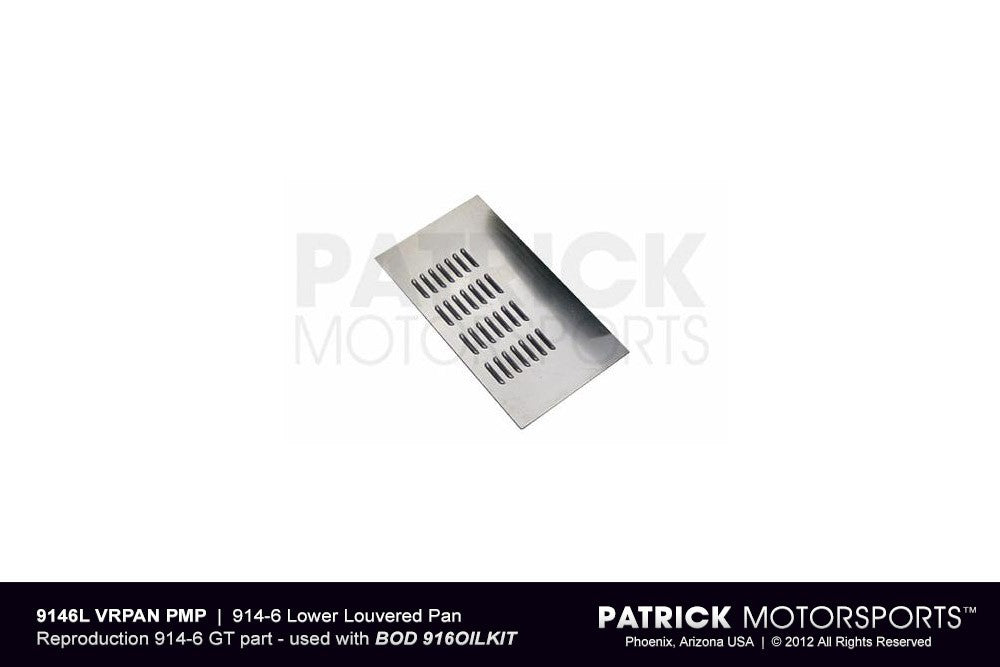 BOD 9146 LVRPAN PMP: 914 6 LOWER LOUVERED PAN - AIR DUCT