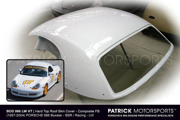HARD TOP ROOF SKIN COVER - (1997-2004) PORSCHE 986 BOXSTER - BSR / RACING- BOD986LWHT