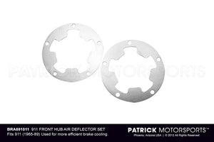 PORSCHE 911 FRONT HUB AIR DEFLECTOR SET- BRA691011