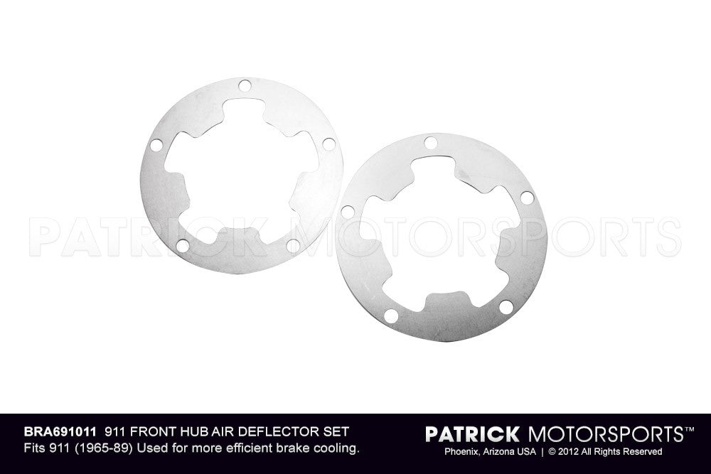 BRA 691011: 911 FRONT HUB AIR DEFLECTOR SET