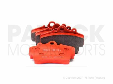 Porsche 986 / 987 Front Brake Pad Set - Pagid Race Spec Orange BRA 99 5541 538 / BRA 99 5541 538 / BRA-99-5541-538 / BRA.99.5541.538 / BRA995541538