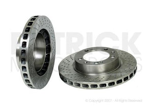 BRAKE DISC - RIGHT FRONT - PORSCHE 993 CARRERA 2 / 4- BRA99335104401