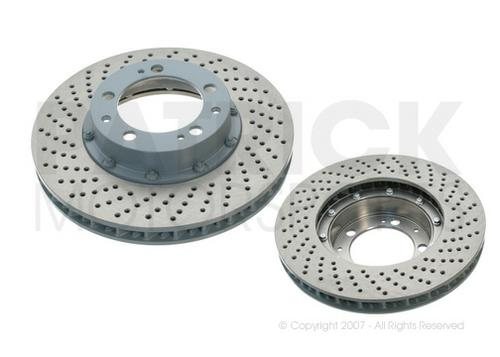 BRA 993 351 045 10: BRAKE DISC ROTOR 993 TURBO - C4S - FRONT LEFT