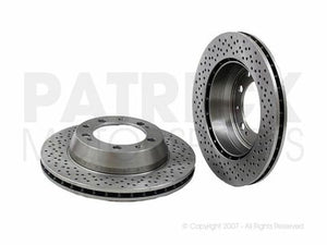 BRAKE DISC - LEFT / RIGHT REAR - BRA99335204102Z