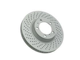 BRA 996 351 410 03: BRAKE DISC ROTOR RIGHT FRONT