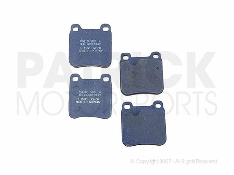 BRAKE PAD SET- REAR- PAGID- BRAD749PS