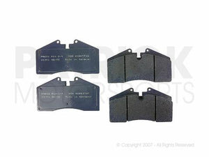 BRAKE PAD SET - FRONT / REAR - PAGID SPORT BLUE - PORSCHE CARRERA- BRAD939PS