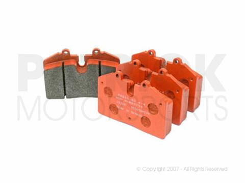 BRAKE PAD SET - RACING RS 4-4 (ORANGE) - PORSCHE 911 / 930 / 928 / 944 / 968- BRAPAG1203