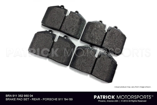 BRAKE PAD SET REAR- 1984-1989 PORSCHE 911- TEXTAR- BRA91135295004