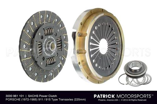 SACHS Power Clutch Performance Kit 225mm - Porsche 911 / 915 Transmission CLU 3000 961 101 / CLU 3000 961 101 / CLU-3000-961-101 / CLU.3000.961.101 / CLU3000961101