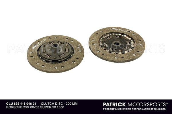 CLUTCH FRICTION DISC PORSCHE 356 - 200MM- CLU69211601601