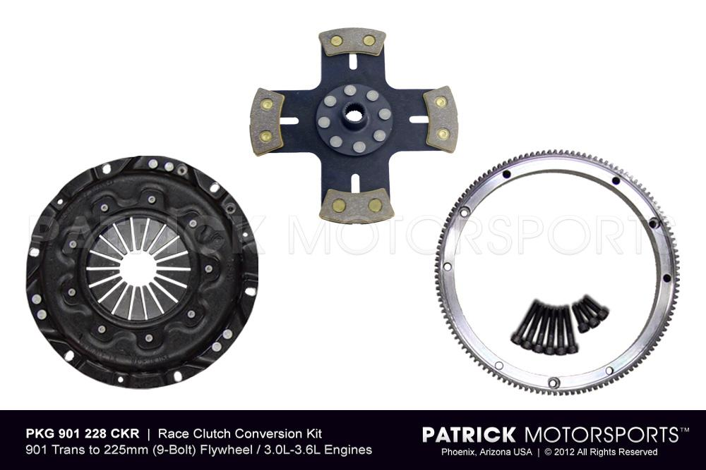 CLU 901 228 CKR PMS: 914 CLUTCH CONVERSION - 911 225MM FLYWHEEL TO 901 TRANSMISSION - RSR RACING