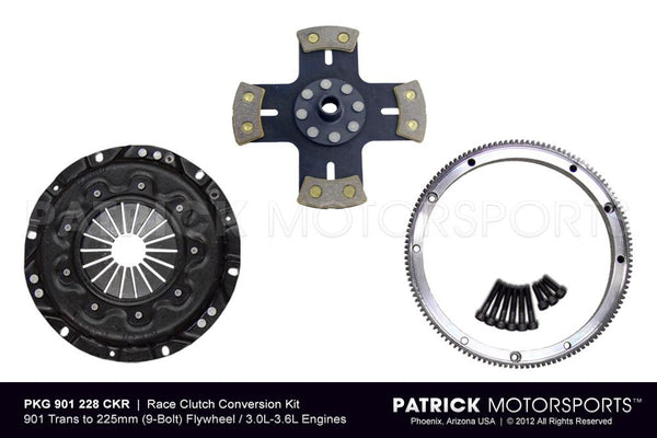 914 Clutch Conversion Kit For Porsche 911 225mm Flywheel To 901 Transmission - RSR Race Spec CLU 901 228 CKR PMS / CLU 901 228 CKR PMS / CLU-901-228-CKR-PMS / 901.228.CKR.PMS / 901228CKRPMS