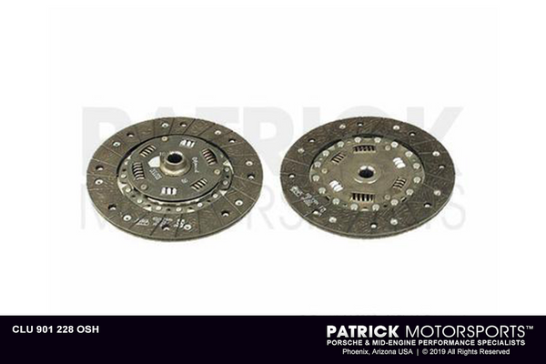 CLUTCH FRICTION DISC - 901 TO 228MM- CLU901228OSH