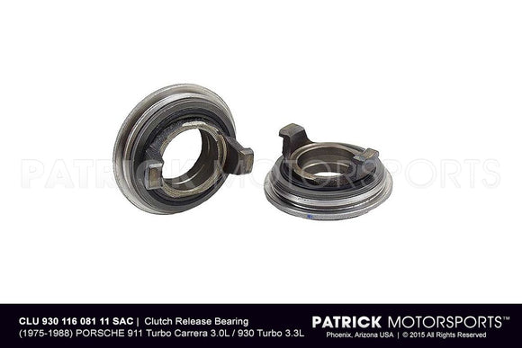 CLUTCH RELEASE BEARING - (1976-1988) PORSCHE 911 TURBO CARRERA 3.0L / 930 TURBO 3.3L- CLU93011608111SAC