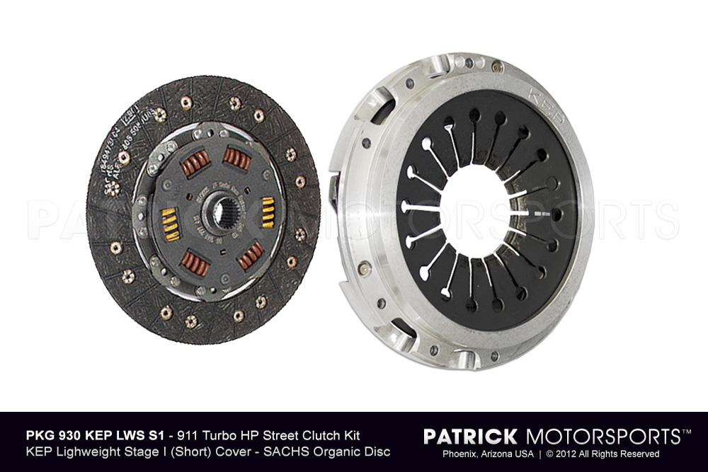 CLU 930 116 KEP LWS S1 PMS: 911 TURBO / 930 SPORT CLUTCH SET - (1975-1977) PORSCHE 911 TURBO 3.0L / 930 4 SPEED - SHORT STAGE 1