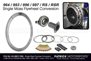 CLU 964 100 SMFC PMS: SINGLE MASS LIGHTWEIGHT FLYWHEEL CLUTCH CONVERSION SET 964 / 993 / 996 / 997 / TURBO / GT2 / GT3