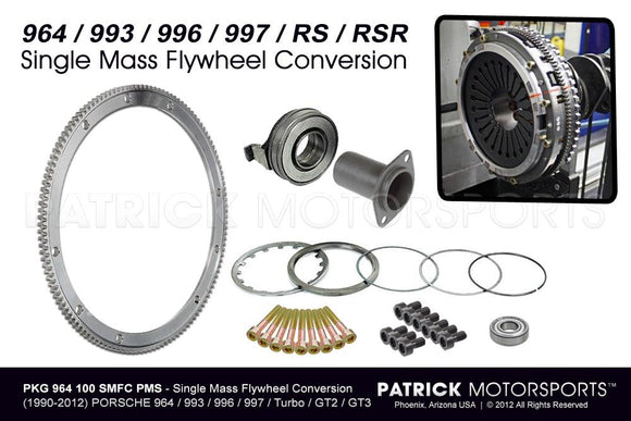 Single-Mass Lightweight Flywheel Clutch Conversion Kit 964 / 993 / 996 / 997 / Turbo / GT2 / GT3 CLU 964 100 SMFC PMS / CLU 964 100 SMFC PMS / CLU-964-100-SMFC-PMS / CLU.964.100.SMFC.PMS / CLU964100SMFCPMS