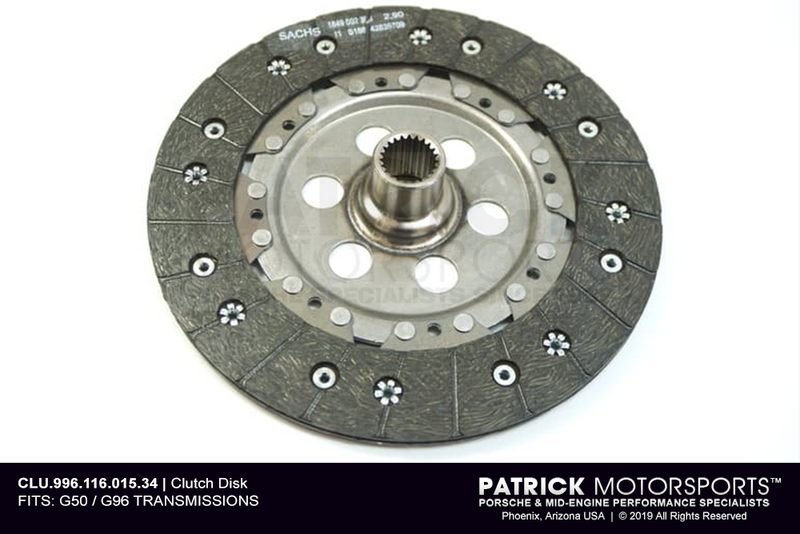 Clutch Friction Disc - 240mm - 964 / 993 / 996 / 997 - RS Style (CLU 996 116 015 34)