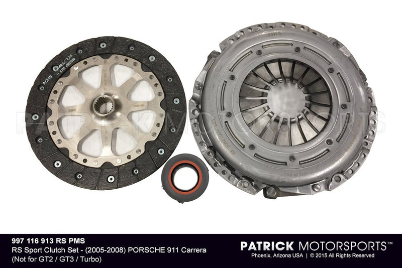 Rs Sport Spec Clutch Kit 2005 - 2008 / Porsche 911 Carrera Not For GT2 / GT3 / Turbo / CLU 997 116 913 RS PMS / CLU 997 116 913 RS PMS / CLU-997-116-913-RS-PMS / CLU.997.116.913.RS.PMS / CLU997116913RSPMS